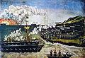 Pirosmani. Russo-Japanese War (Oilcloth 103x131).jpg
