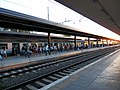 Pisa Centrale train station platform 10 July 2012.JPG