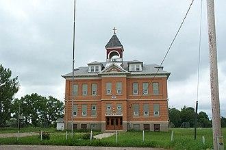 National Register of Historic Places listings in Walsh County, North Dakota - Image: Pisek School