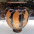Pittore di ettore, stamnos con corteo dionisiaco e vecchio tra due donne, 450-440 ac ca, da perugia 02.jpg