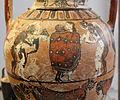 Pittore di timiades, anfora tirrenica con animali, figure mitologiche e scene erotiche, da tharros (cabras), 570-60 ac ca. 04.JPG