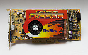 GeForce FX5900 graphics card