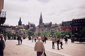 Place Kléber - ...in 2002...