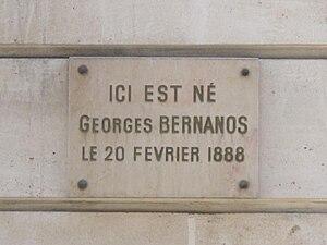 English: Building where Georges Bernanos was b...