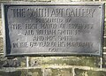 Plaque at the entrance to Rydings Park, Halifax Road, Brighouse - geograph.org.uk - 461221.jpg