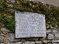 Plaque commémorative (Presbytère de Chapaize).JPG
