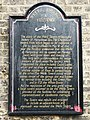 Plaque giving a history of the Wells Tavern - geograph.org.uk - 1068092.jpg