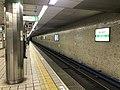 Platform of Sakaisuji-Hommachi Station (Chuo Line) 4.jpg