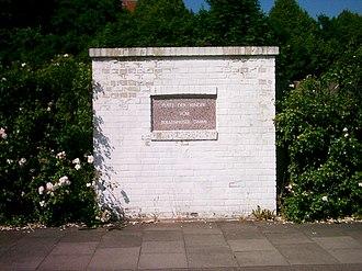 """Bullenhuser Damm - """"Place of children from Bullenhuser Damm"""" in Hamburg, Germany."""