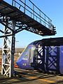Plymouth - fGWR 43124 arrived from London.JPG
