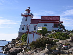 Pointe au Baril, Ontario - The Pointe Au Baril Lighthouse