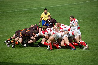 Belgium national rugby union team - Poland playing Belgium in Qualifiers for the 2011 Rugby World Cup