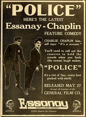Police (1916 film) - Image: Police 1916