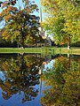 Pond and church, Shottesbrooke - geograph.org.uk - 604826.jpg