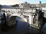 File:Pons Aemilius, the oldest Roman bridge in Rome, Field of Mars (Campus Martius) (9101315016).jpg