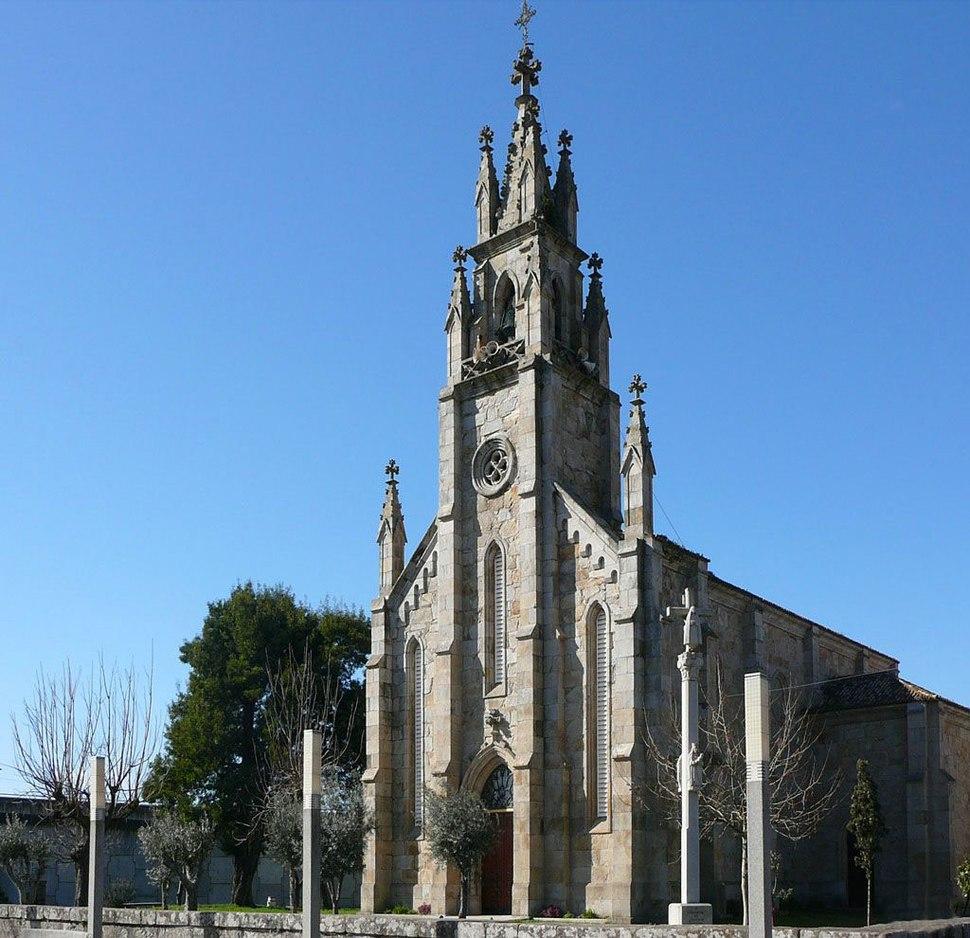 Pontevedra. Igrexa de Placeres