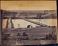 Pontoon bridges at Fredericksburg, Va. (3110839080).jpg