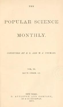 Popular Science Monthly Volume 11.djvu
