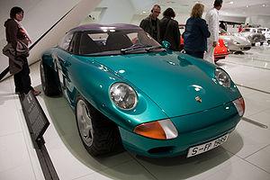 Porsche Panamericana - Porsche Panamericana in the Porsche Museum in Stuttgart