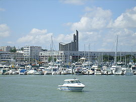 Skyline of Royan