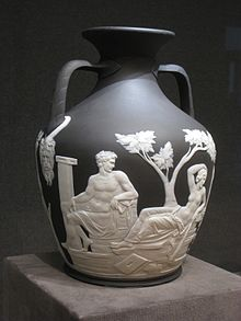 Wedgwood, copia del Vaso Portland in gres (1790 circa), Cleveland Museum of Art