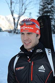 Arnd Peiffer German biathlete