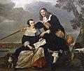 Portrait de Hendryck Henck et de sa femme Catharina Browers - Nicolaes Helt - Musée du Louvre.jpg