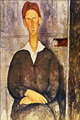 Portrait of a Young Man - Amedeo Modigliani.png