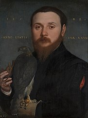 Portrait of a falconer