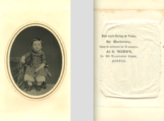 Portrait of child by S Wing of 290 Washington Street in Boston.png