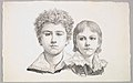 Portrait of the Rabe Children- Hermann, age 14 and Edmond, age 7; verso- proof before corrections of small faults in the images MET DP822791.jpg