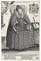 Portret van Elizabeth I Tudor, koningin van Engeland Posvidevm Adivtorem Mevm (titel op object), RP-P-1939-392.jpg