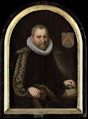 Portrait of Gerrit Willemsz Overrijn van Schoterbosch (c. 1538-1611)