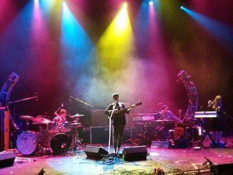 Portugal. The Man - Portugal. The Man performing in Kansas City in October 2013