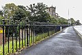 Post And Railings Protecting Raised Section Of Park Road On East Side, Extending Circa 80 Metres From Junction With Church Brow-2.jpg