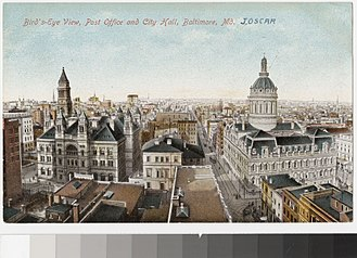 Spiro Agnew - Downtown Baltimore, at about the time of Agnew's birth in 1918