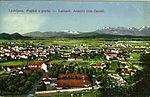 Postcard of Ljubljana from Ljubljana Castle 1908.jpg