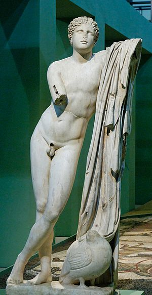 Erotes - Statue of Pothos at the Centrale Montemartini