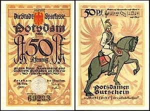 Potsdam 50 Pfennig 1921 Mehlsäcke.jpg