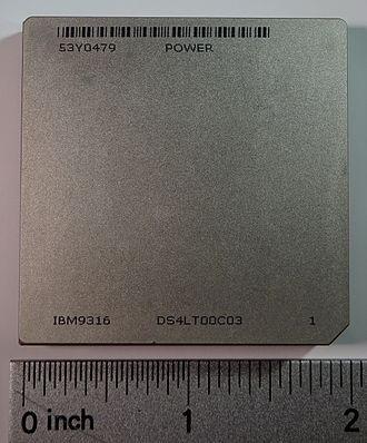 POWER6 - Power6 ceramic base, top