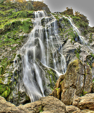 Enniskerry - Powerscourt Waterfall.
