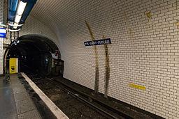Pré Saint-Gervais Station, Paris 19e 20140427