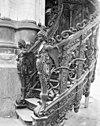 preekstoel trapopgang. - amsterdam - 20012522 - rce