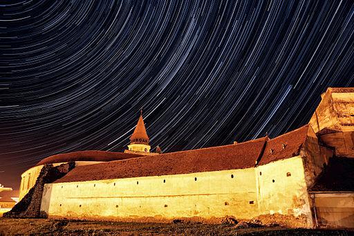 Prejmer - Ansamblul bisericii evanghelice fortificate - vedere dinspre nordest