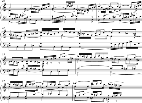 Prelude and Fugue in C major, BWV 870 - Wikipedia