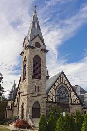 Bound Brook, New Jersey - Presbyterian Church at Bound Brook