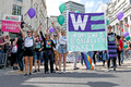 Pride in London 2016 - Enthusiastic members of the Women's Equality Party in Trafalgar Square.png
