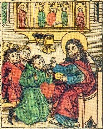 Prester John - Prester John from Hartmann Schedel's Nuremberg Chronicle, 1493