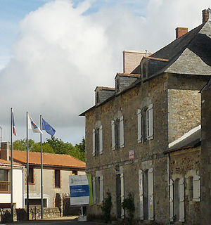 Saint-Philbert-de-Grand-Lieu - The priory of the old abbey, now converted into a tourist office