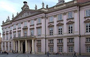 Peace of Pressburg (1805) - The Primate's Palace, where the Peace of Pressburg was signed